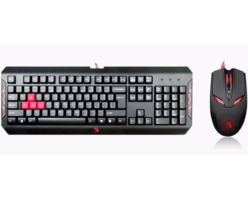 KEYB A4 TECH Q1100 BLOODY GAMING CRNA + MIS