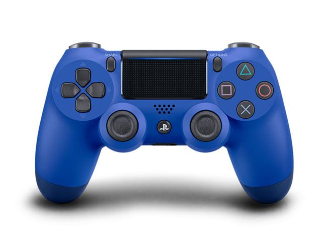 SJOY PS4 DUALSHOCK CONTROLER BLUE
