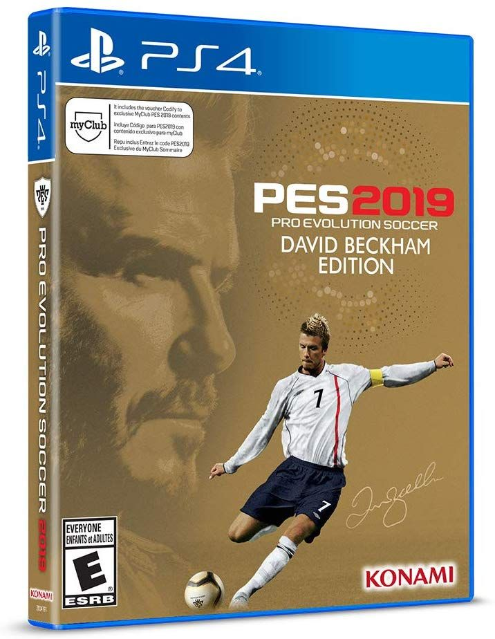 PES 2019 - Pro Evolution Soccer 2019 David Beckham Edition
