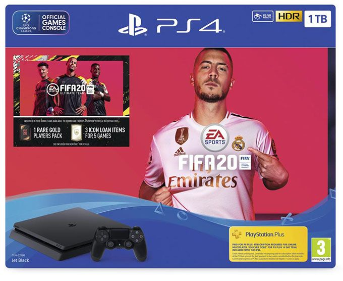 SONY PlayStation PS4 slim 1TB + FIFA 20