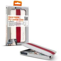 TORBA CAREFUKKY HAND-MADE PROTECTIVE LEATHER (WHITE-RED)